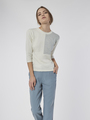 COLOURBLOCK KNITTED TOP