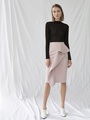 ASYMMETRICAL PEPLUM SKIRT