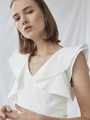 TEXTURED COTTON DRESS