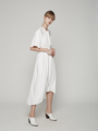 SHIRTDRESS WITH REMOVABLE BELT