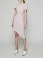 FITTED ASYMMETRICAL DRESS