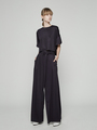 WIDE LEG PANTS WITH SASH