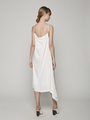 DRAPED BACK CAMISOLE DRESS