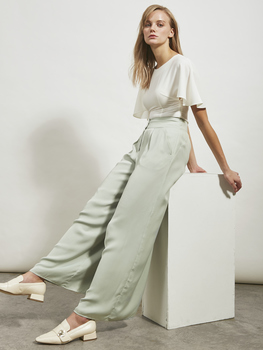 High-Waisted Palazzo Pants