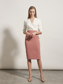 V-Neck Work Dress